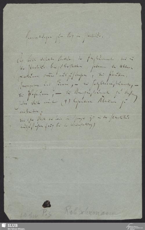 Vorschaubild von Bemerkungen zum Stich der Partitur. - 5807-A3