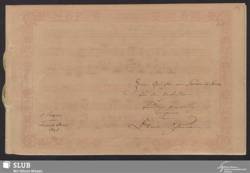 Vorschaubild von Bey'm Abschied von Friederike Serre - 7261-A1
