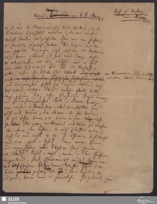 Vorschaubild von Mose <Oratorium> von A. B. Marx - 425,1-A3-2-A3