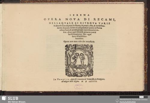 Vorschaubild von Serena Opera Nova Di Recami, Nella Qvale Si Ritrova Varie
