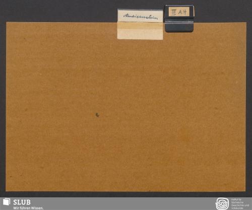 Vorschaubild von Ameisenstein (III A 4)