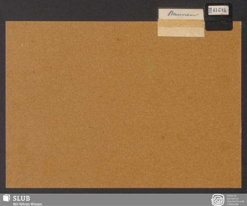 Vorschaubild von Bannen (III A 3; III C 1; III C 2)