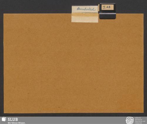 Vorschaubild von Beinbruch (I A; I B)
