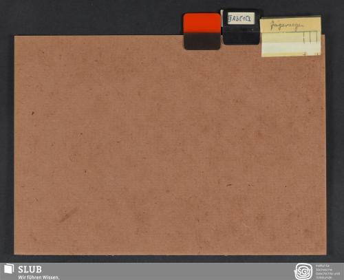 Vorschaubild von Jägersegen (III A 3; III C 1; III C 2)