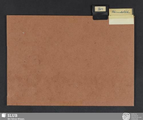 Vorschaubild von Schimmelstehlen (III A 4)