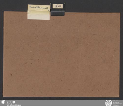 Vorschaubild von Unsichtbarmachung (III A 4)