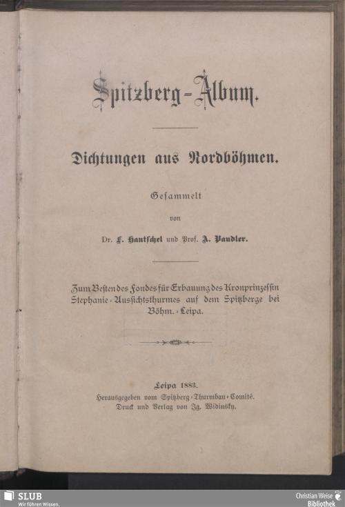 Vorschaubild von Spitzberg-Album