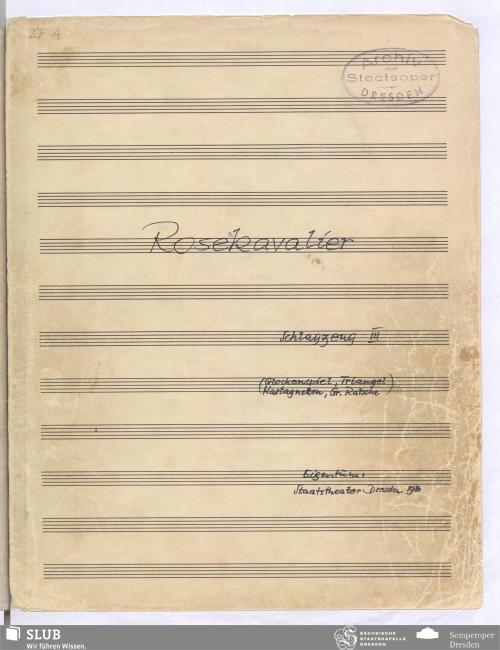 Vorschaubild von [Ausgabe 1910 (Bläser, Schlagwerk, Harfe)]