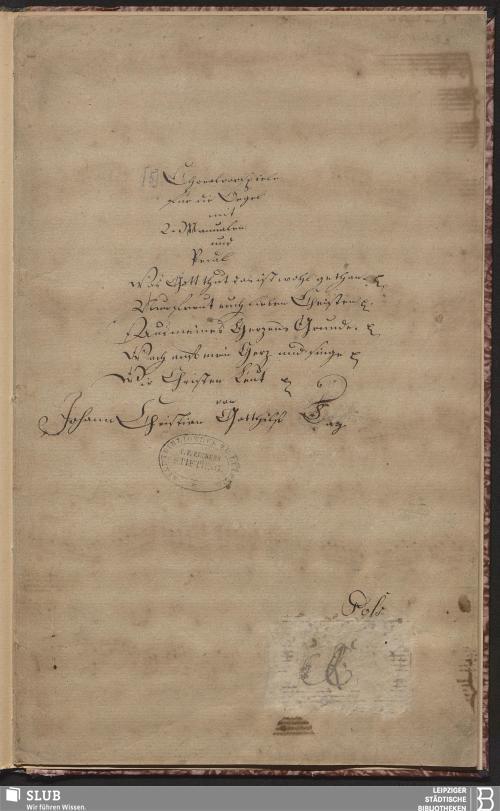 Vorschaubild von 6 Chorale Arrangements - Becker III.8.66