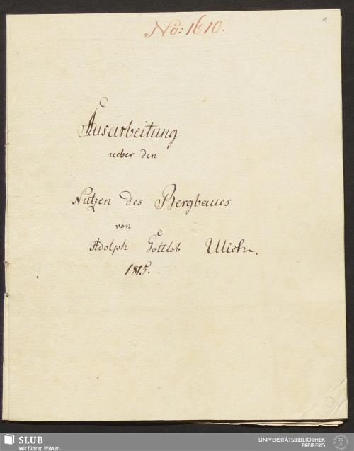 Vorschaubild von Ausarbeitung ueber den Nutzen des Bergbaues - 18.6282 8.