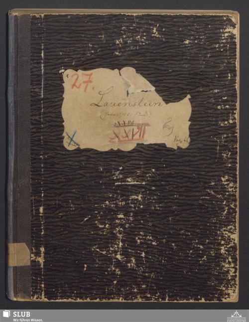 Vorschaubild von Lauenstein (Herrsch. H. u. Stand) - A3.35
