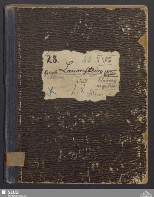 Vorschaubild von Lauenstein - Lehnbriefe, Steuerregister - A3.35