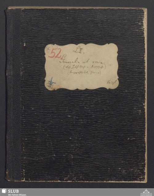 Vorschaubild von Generalia et varia (Kgl. Htst.Archiv u. Drucksachen) (Berggießhübel, Pirna) - A3.35