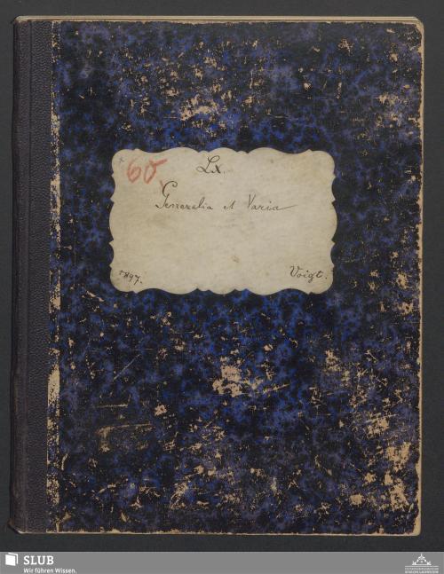Vorschaubild von Generalia et Varia - A3.35