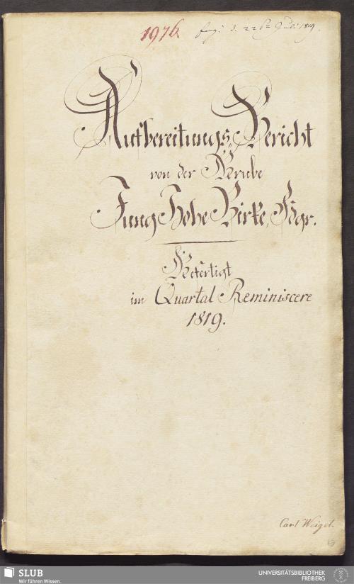 Vorschaubild von Aufbereitungs-Bericht von der Grube Jung Hohe Birke, Fdgr. - 18.6633 4.