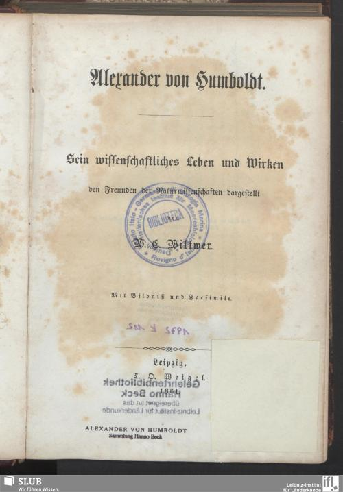 Vorschaubild von Alexander von Humboldt