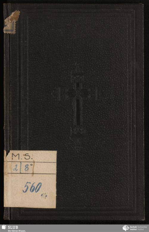 Vorschaubild von Boži wodźeŕ sa młodych kschescźijanow po wobnowjenju kschcźeńskeho ßluba