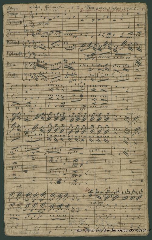 Vorschaubild von 2 Cantatas - Mus.3036-E-500