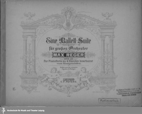 Vorschaubild von Eine Ballett-Suite